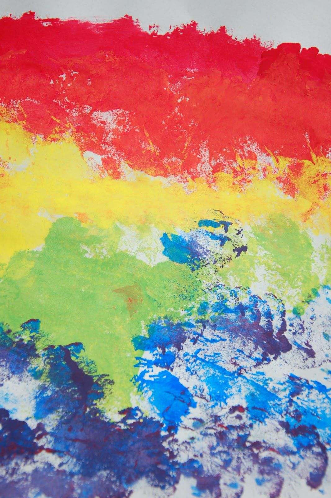 R is for rainbow- rainbow color mixing | Celebrating Color ...
