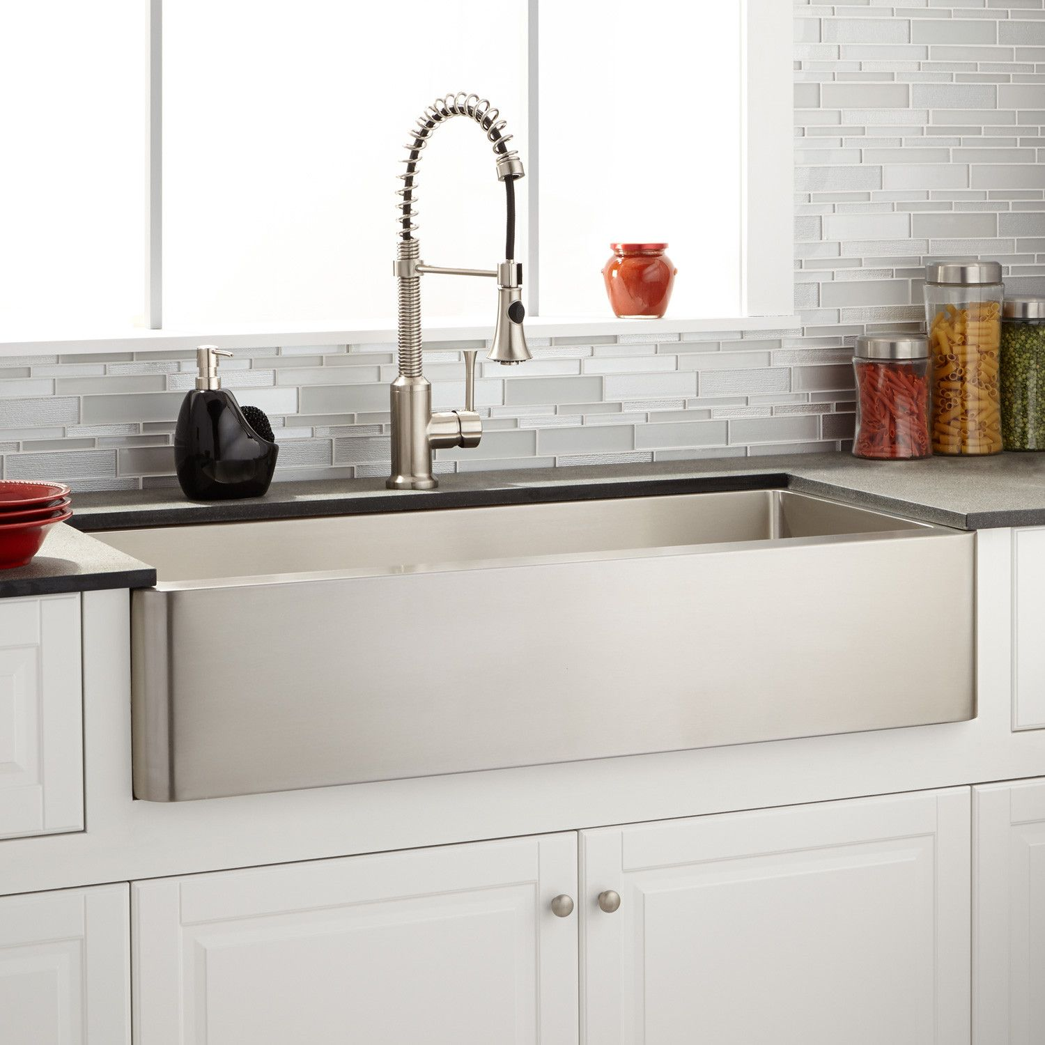 42 Hazelton Stainless Steel Farmhouse Sink Farmhouse Sinks