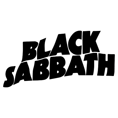 Black Sabbath Logo In 2021 Black Sabbath Rock Band Logos Band Stickers
