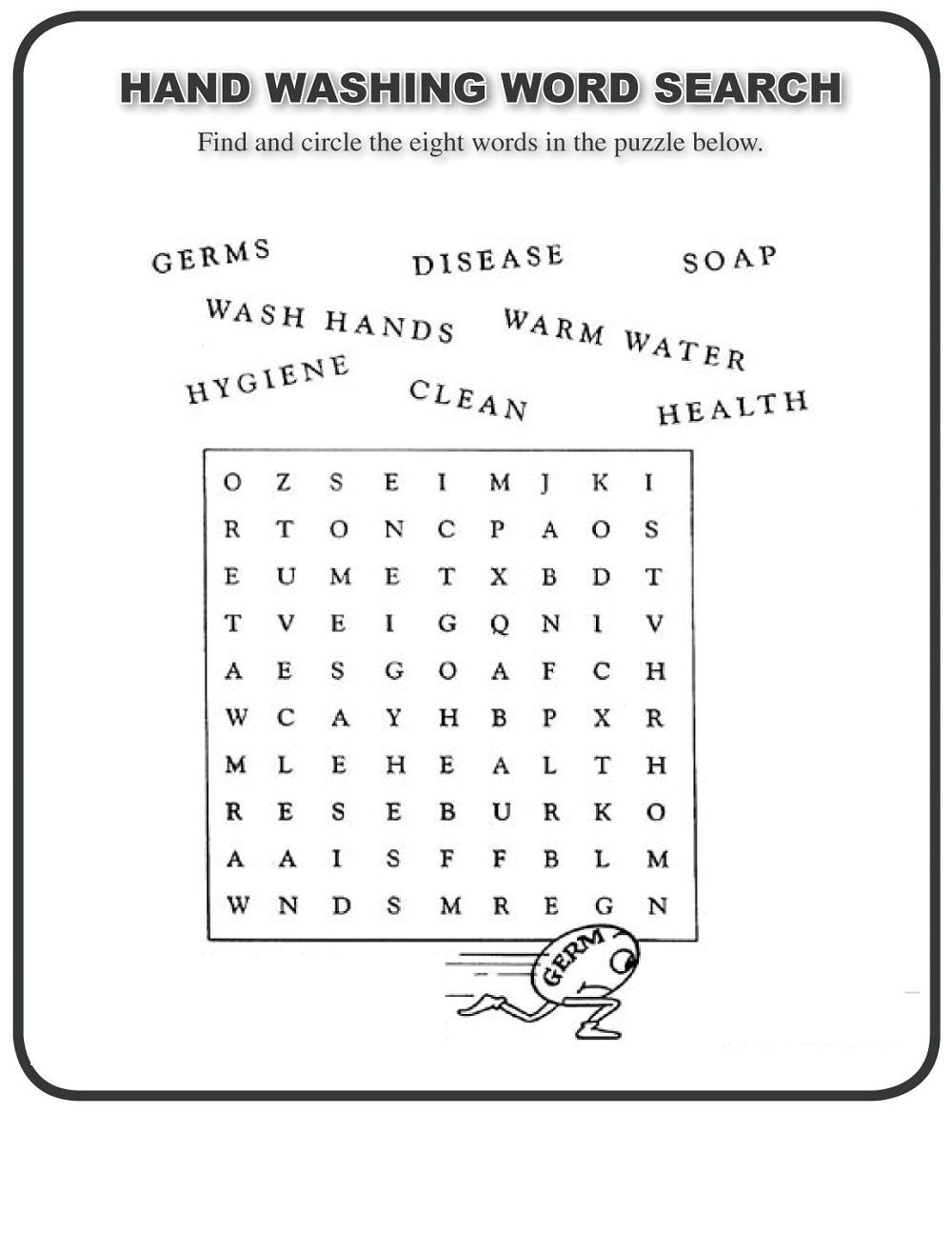 Pin By Krishna Otero On Worksheets For Kindergarten In 2021 Free Printable Word Searches Word Find Word Search Puzzles Printables [ 1316 x 1000 Pixel ]