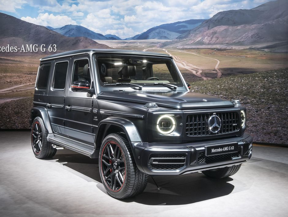2019 Mercedes Amg G63 Is A 577 Hp Beast Mercedes Benz G Class