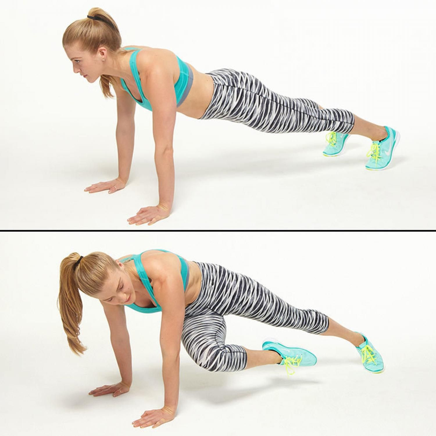 Ab Moves from Barry's Bootcamp Trainers