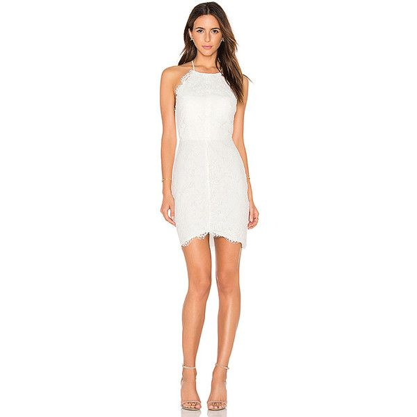 Bobi BLACK Mixed Chiffon Lace Bodycon Dress (€93) ❤ liked on Polyvore featuring dresses, lace chiffon dress, lace body con dress, strappy dress, lacy dress and chiffon cocktail dresses