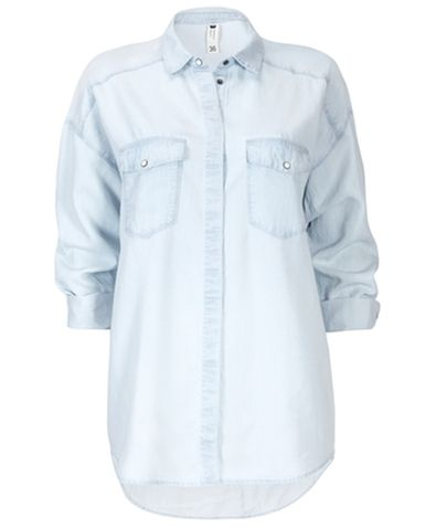 Gina Tricot - Paris shirt Lt blue (5150)