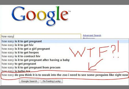 The 19 Dumbest Things That Google Is Forced To Suggest