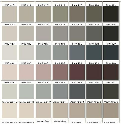 Gray Colors lots of gray color choices! | home inspiration | pinterest | gray