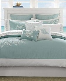 Harbor House Coastline 3-Pc. Twin Comforter Set & Reviews - Home - Macy's