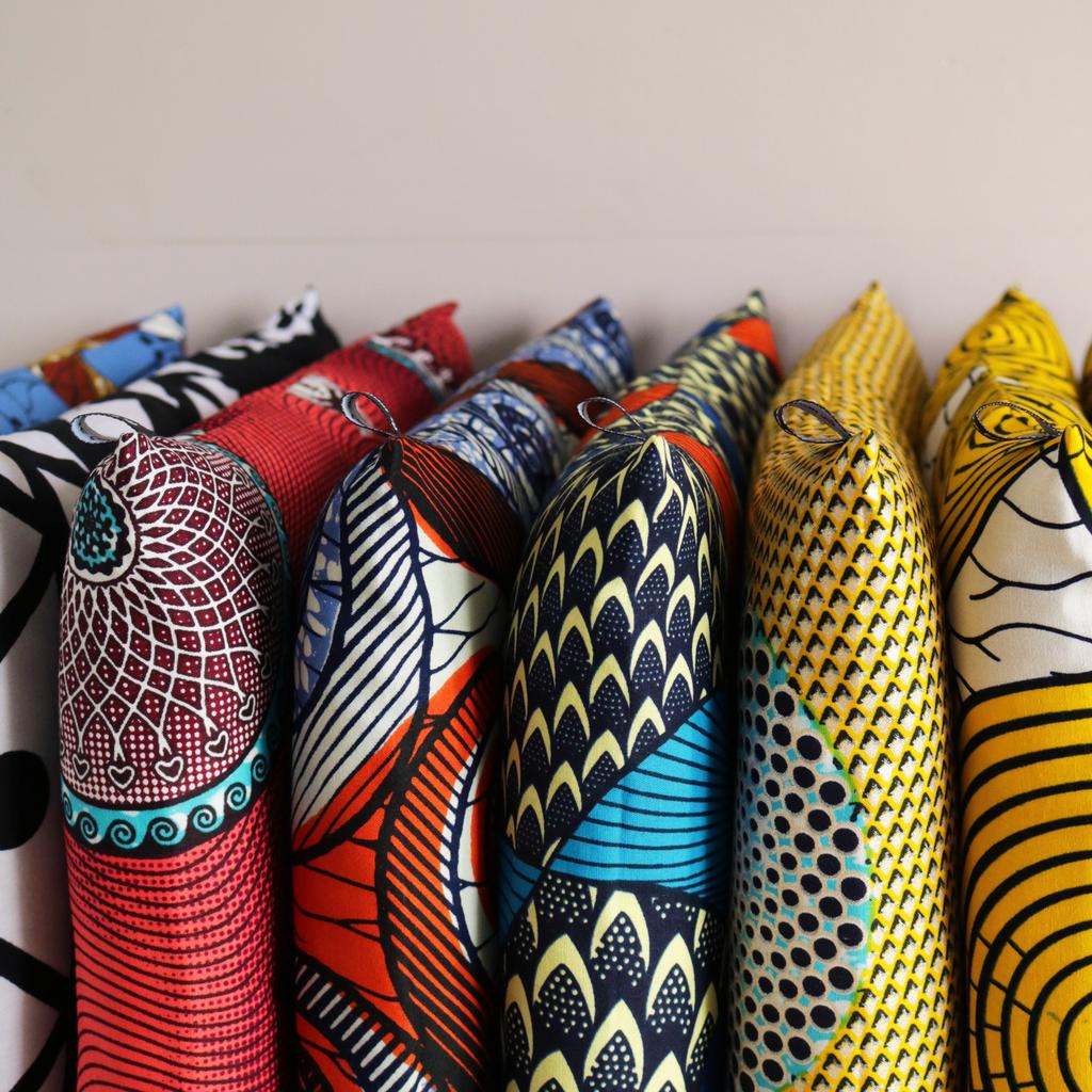 Galettes De Chaises En Wax Sur Mesure L Appartement Parisien De
