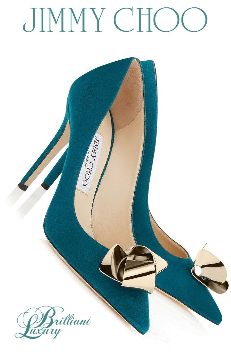 Jimmy Choo Aw 15 Teal Collection Shoes Shoes Shoe