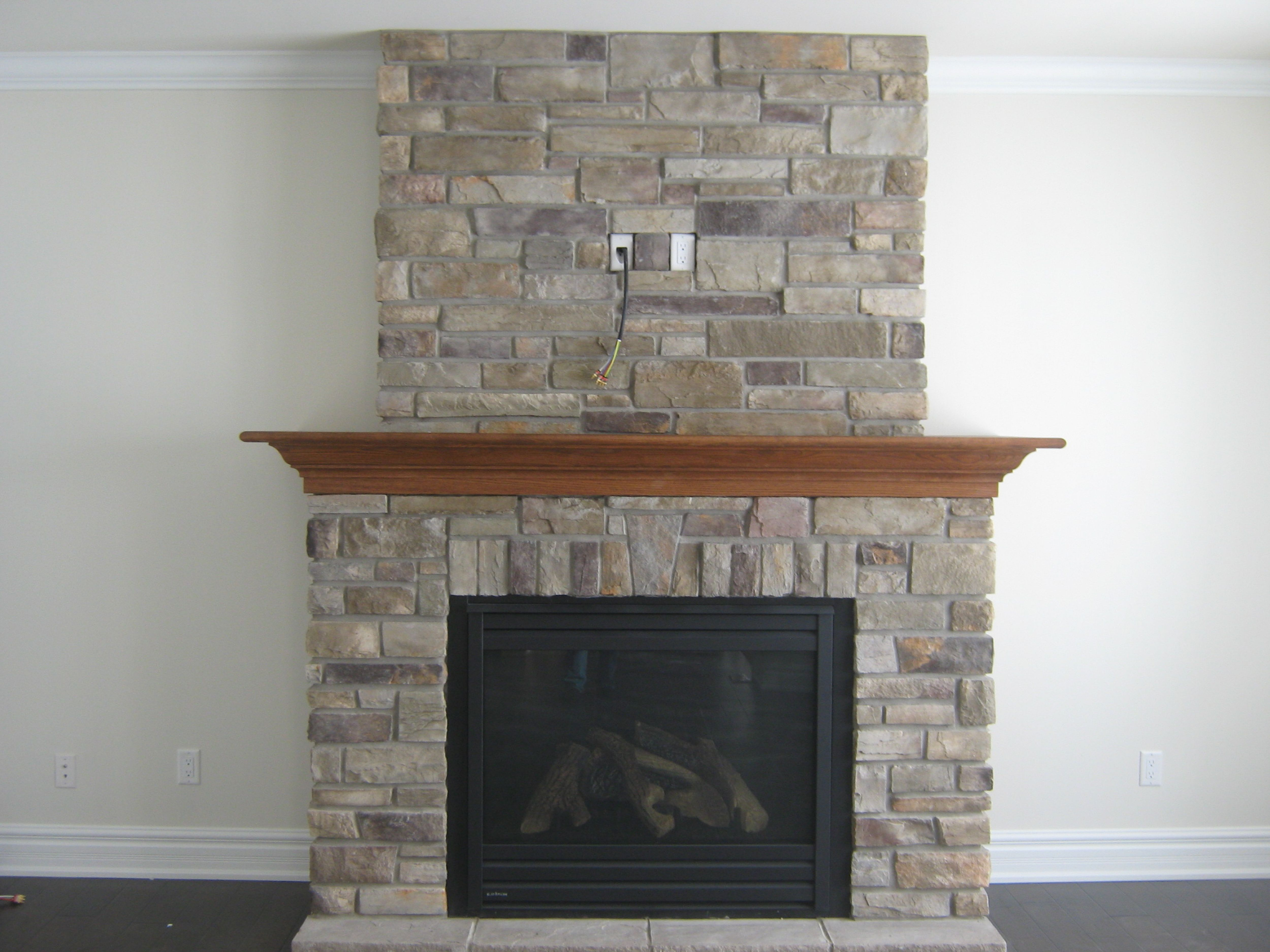 Brick Style Fireplace Fireplace Design Pretty