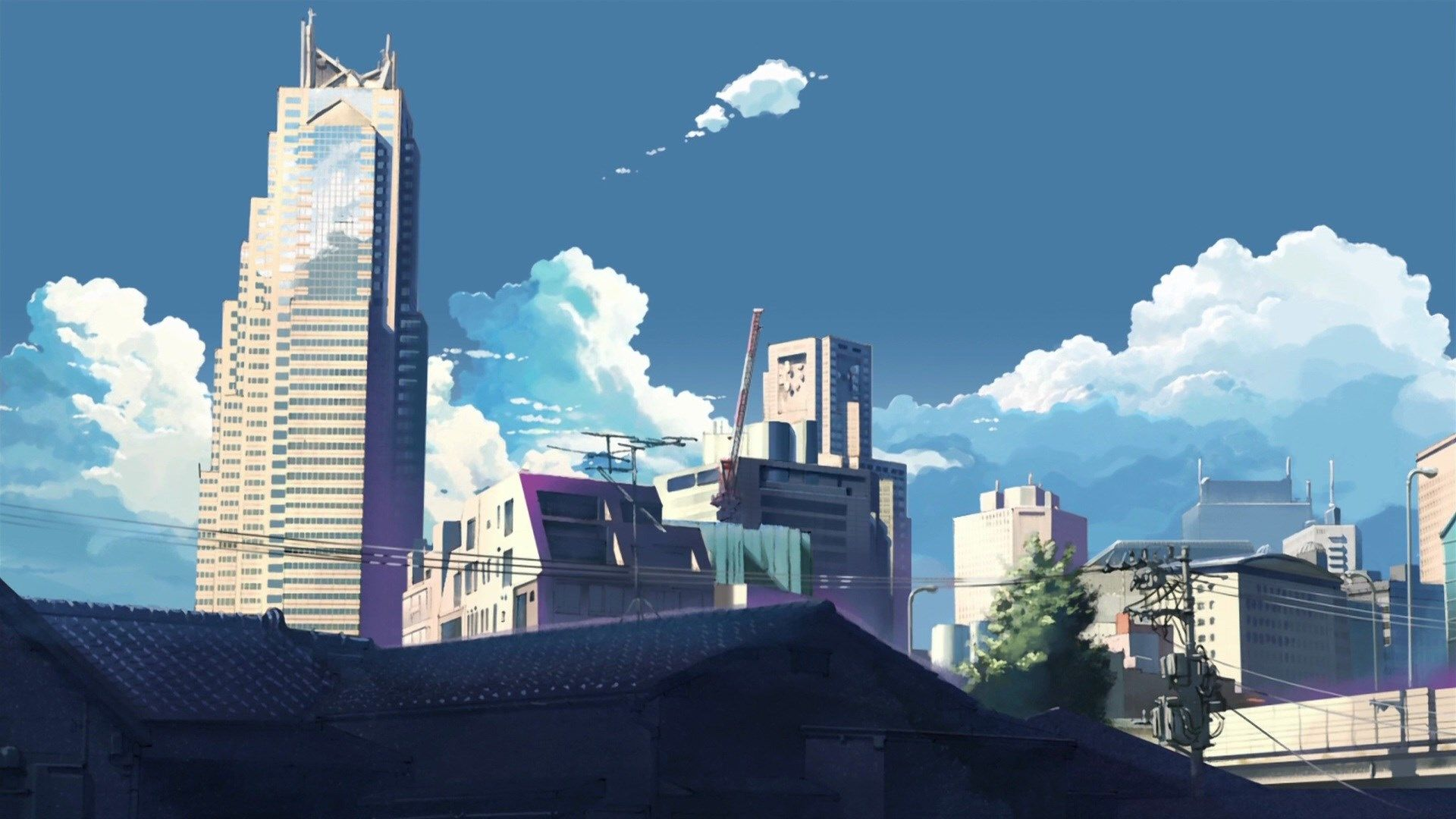 1920x1080 Px 5 Centimeters Per Second Wallpaper