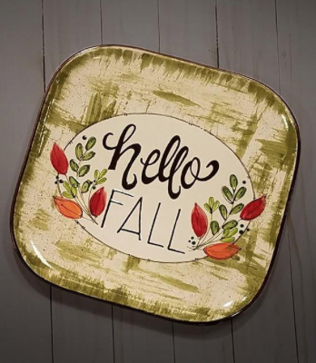Pin By Hotpots On Autumn Pottery Ideas Pottery Painting Paint Your Own Pottery Painted Plates