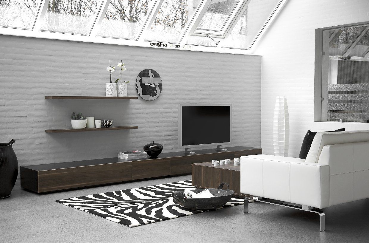 Stunning Scheme For Impressive Modern Living Room Design Idea Picture