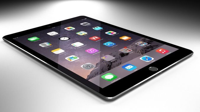 ipad air 2 – free 3d model ready for cg projects. available, Badezimmer