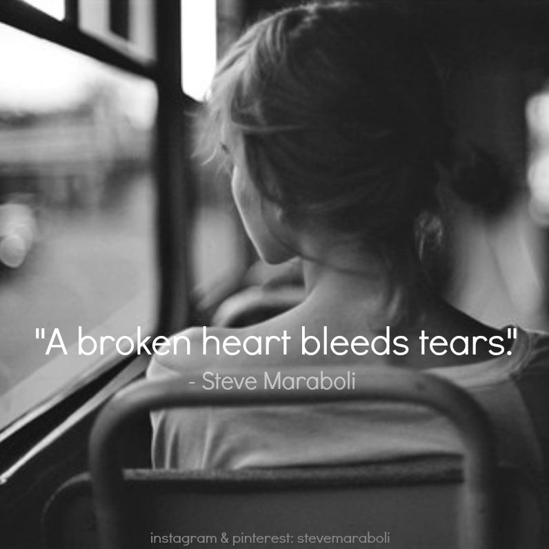 A Broken Heart Bleeds Tears Sтεvε Mαяαвσℓι Qυσтεs Photography