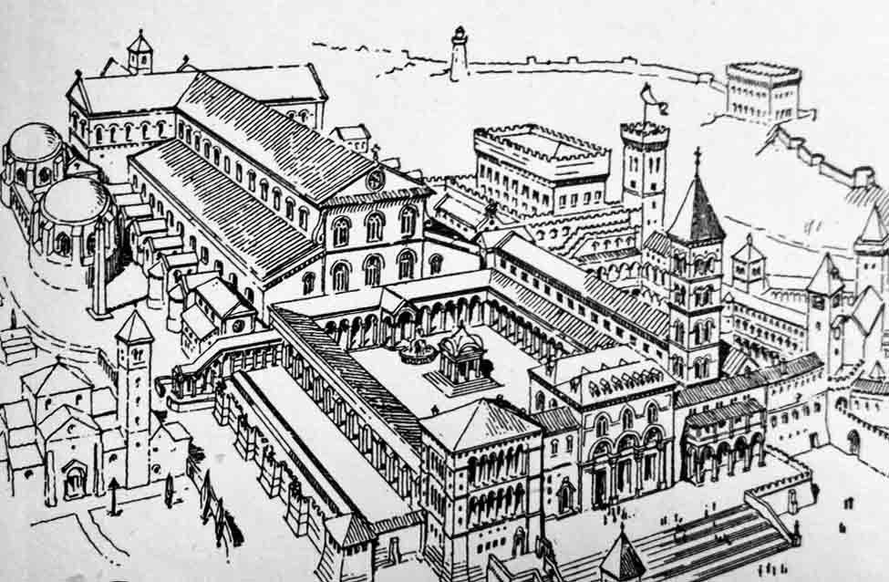 Rome's Sixth Century Landmarks Early christian, Rome