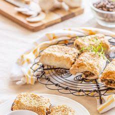 Mushroom Lentil Rolls Recipe