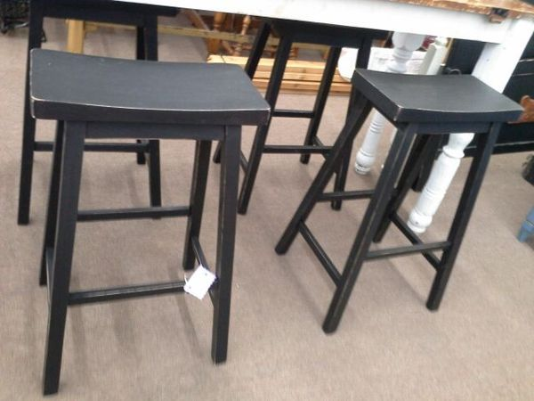 Set Of 4 Tall Wood Stools For Sale In Mesa Az Wood Stool