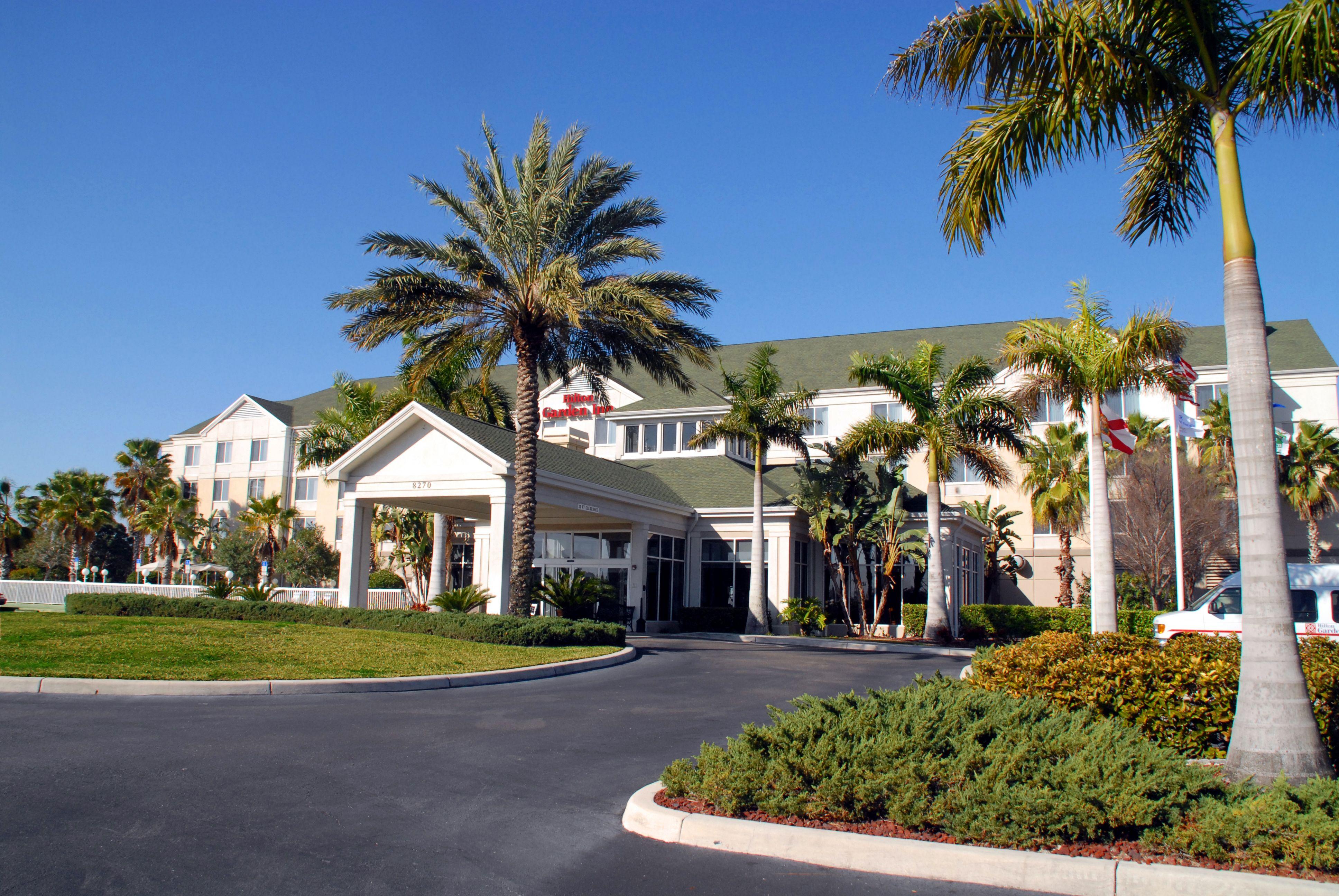 to the Hilton Garden Inn Sarasota Bradenton