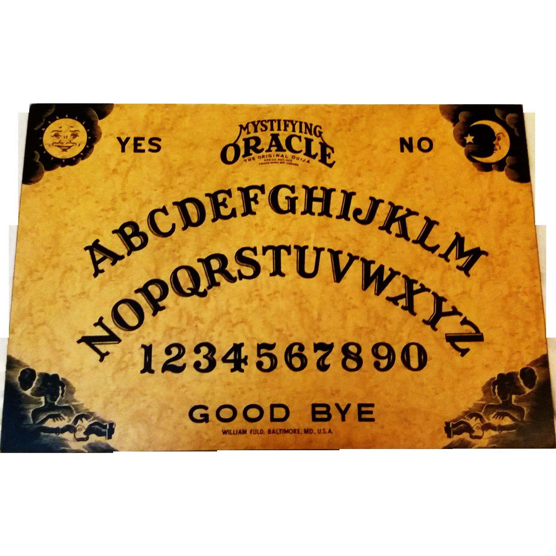 Vintage Ouija Board Game Circa 1938 Www Rubylane Com Vintagebeginshere Ouija Ouija Board Vintage Toys