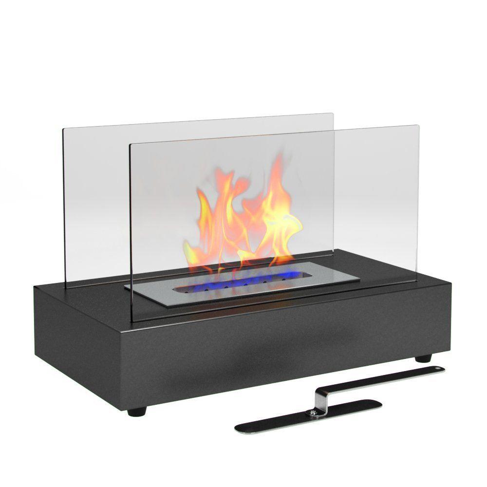 Amazon.com: Moda Flame Vigo Ventless Table Top Ethanol Fireplace ...
