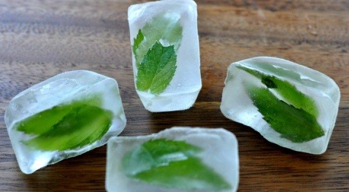 5 Cool Ice Cube Ideas For Summer Drinks Frozen Fresh Freezing Fresh Herbs Freezing Herbs
