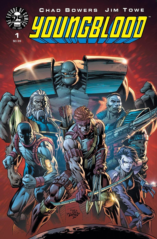 Youngblood 1 cvr c finch Super herói, Marvel comics e
