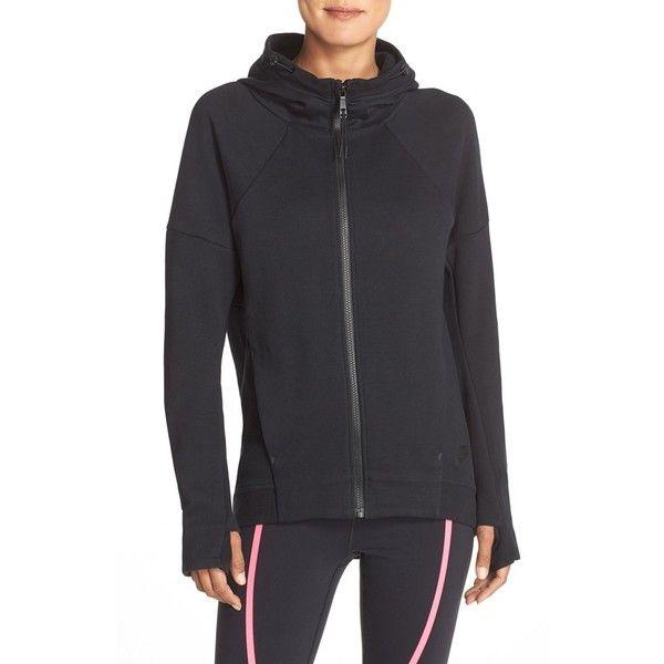 Women s Nike Hooded Tech Fleece Jacket ( 54) ❤ liked on Polyvore featuring  activewear 1ba569dca