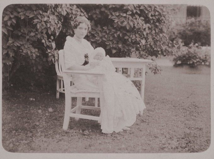 Princess Irina Felixovna Yussupova, was born March 21, 1915.