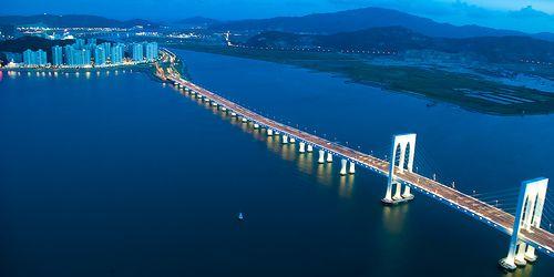 Sai Van Bridge, Macau, China by hk_traveller, via Flickr