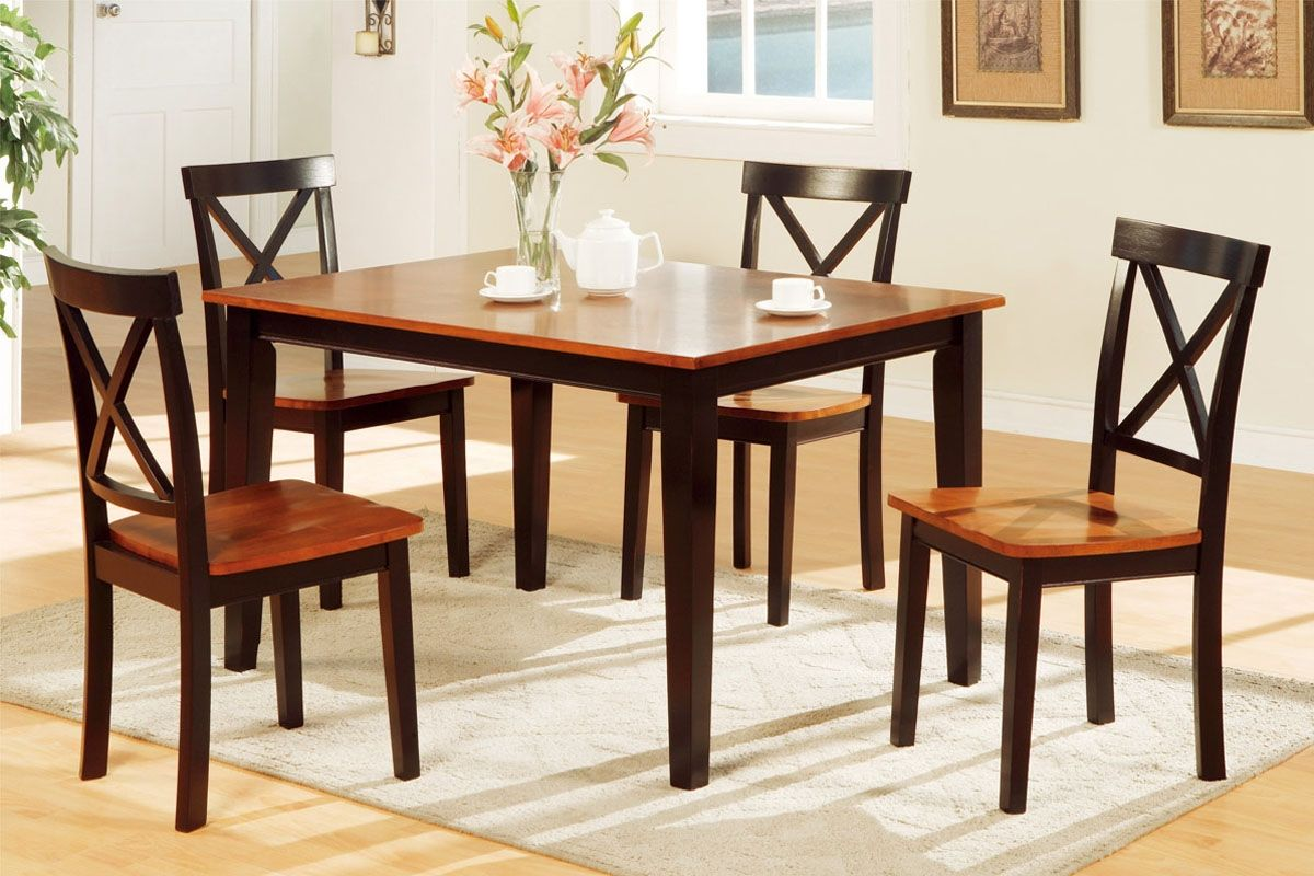 Two Tone Dining Table Sets  Httpfmufpi  Pinterest Beauteous Two Toned Dining Room Sets Design Decoration