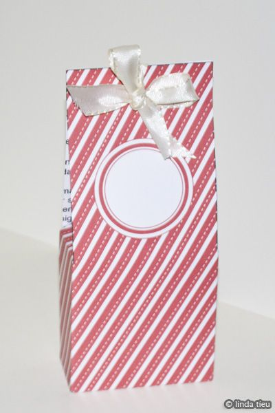 Christmas Candy Cane Treat Box Template  Free Printable  Fonts