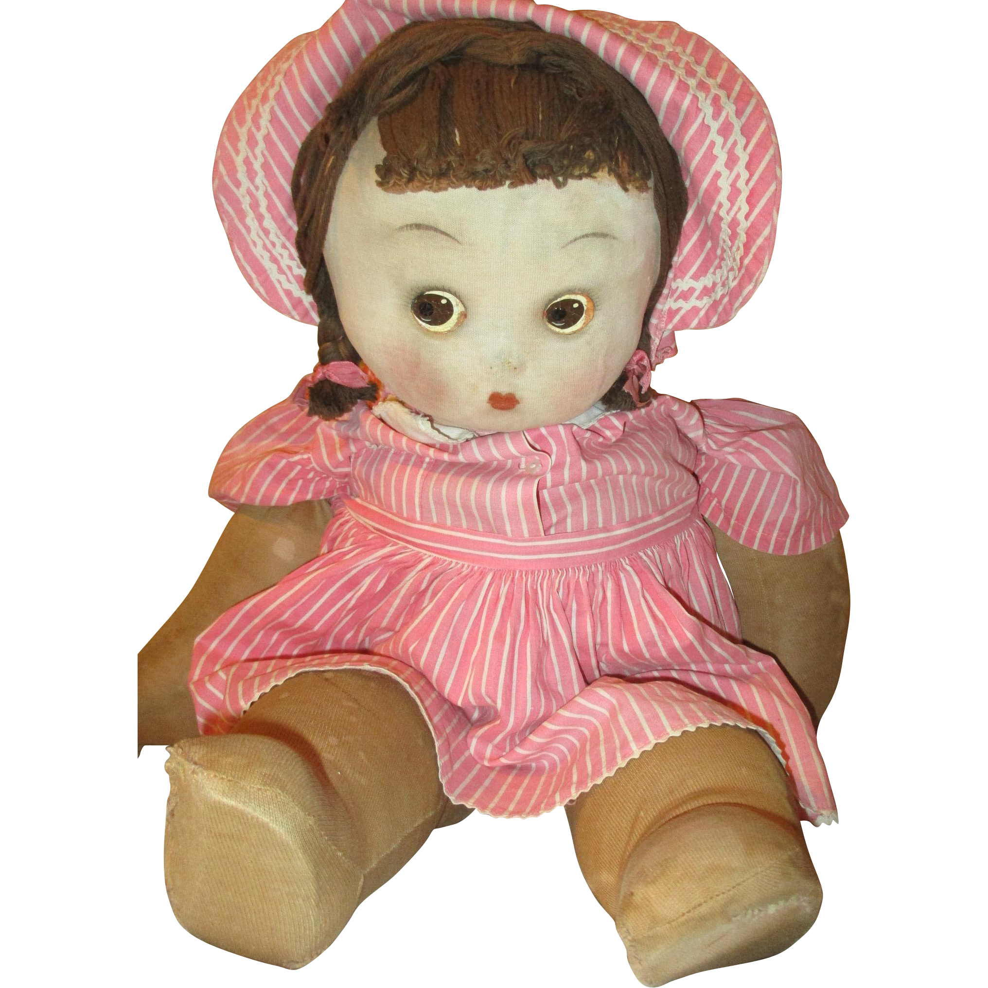 Early Cloth Madame Alexander Doll from laneinvestments on Ruby Lane