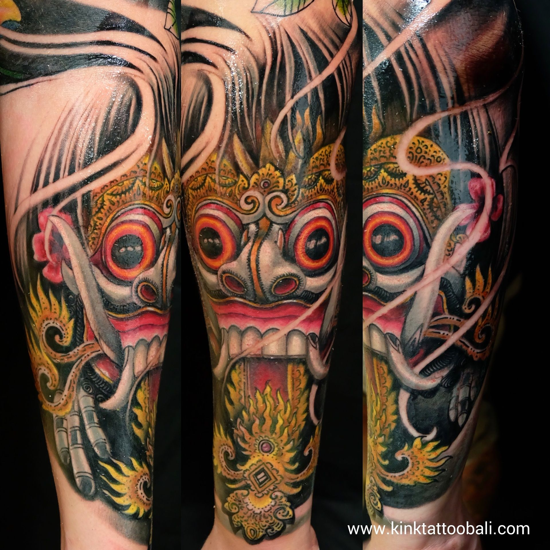 Pin Di Color Tattoo Kink Tattoo Bali