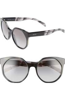 5aafde46cddd5 Free shipping and returns on Prada 53mm Optical Glasses (Online Only) at  Nordstrom.com. A modern silhouette with a beveled brow bar refines Italian  optical ...
