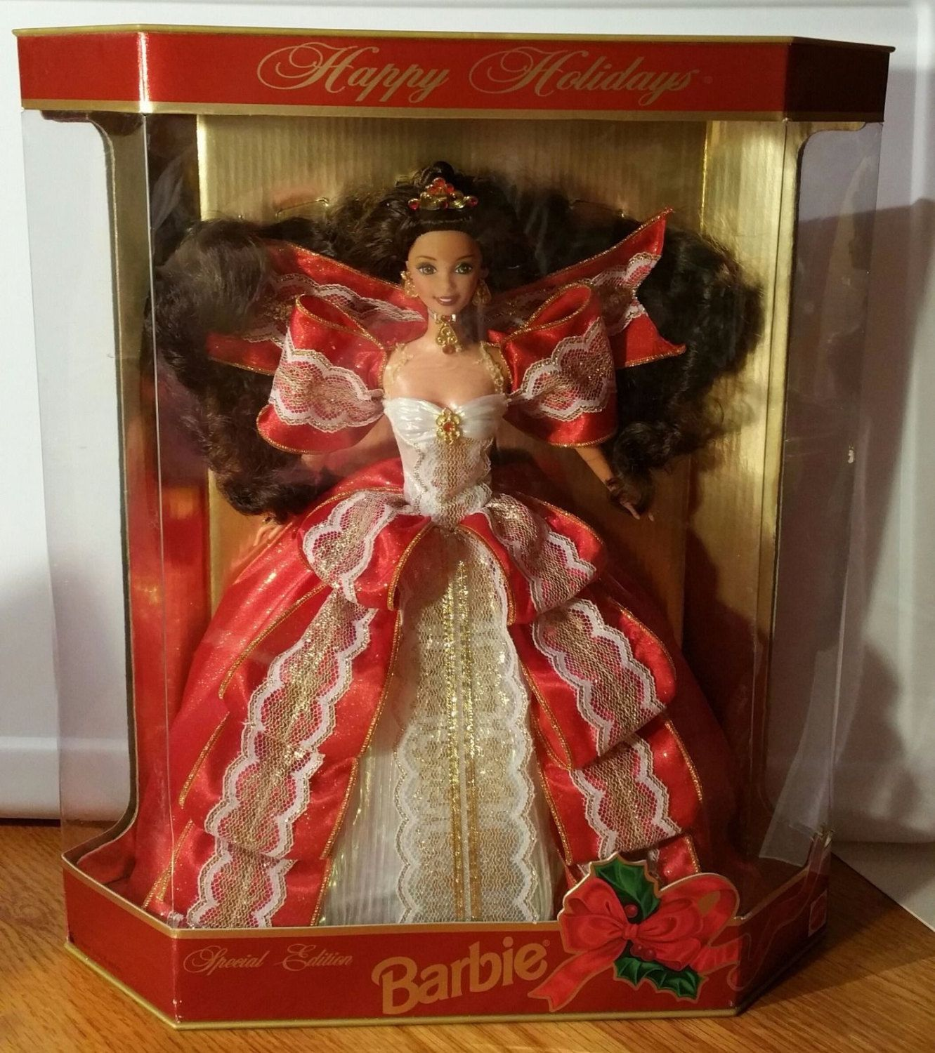 10th anniversary happy holidays barbie special edition