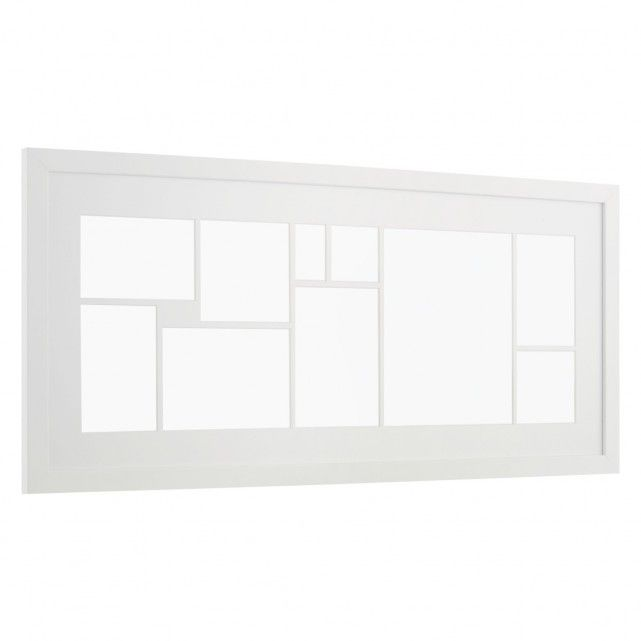 ARCHY White multi-apperture picture frame | Walls, White oak and House