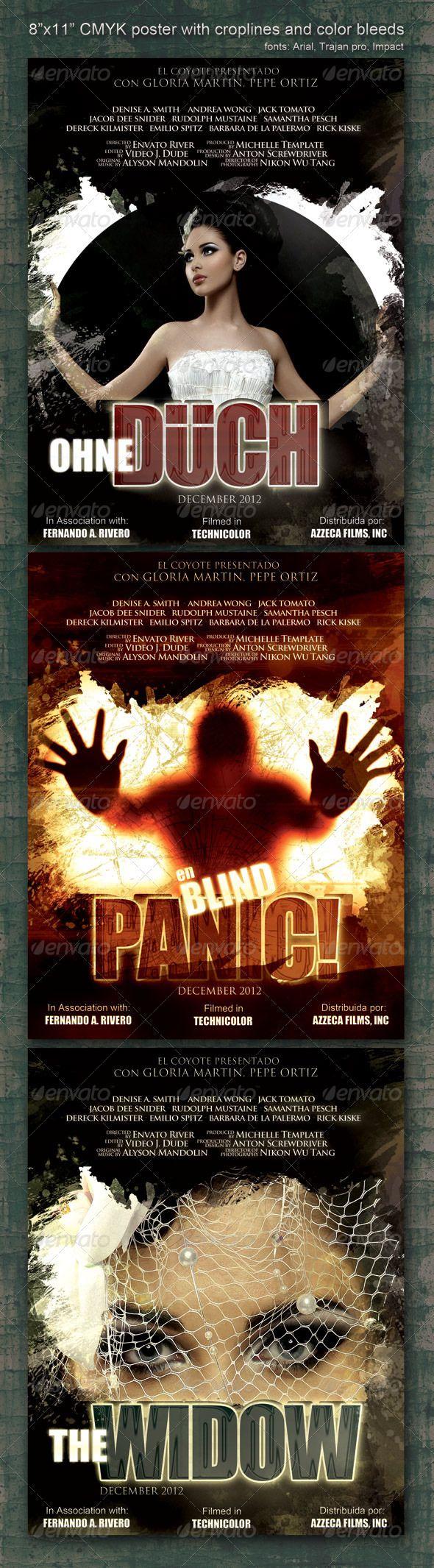 8 5x11 poster design - 8 5 X11 Poster Panic