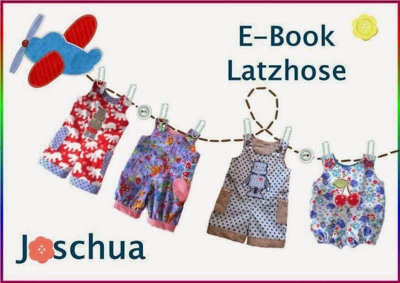 Freebook Latzhose Joschua Gr. 50-110   Nähen // Kinderkleidung ...
