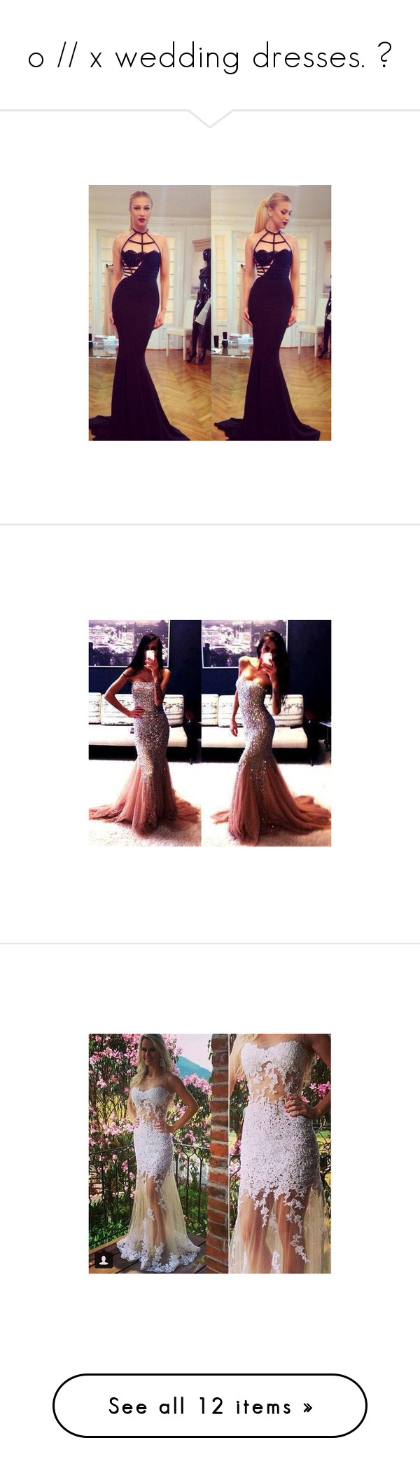 O x wedding dresses