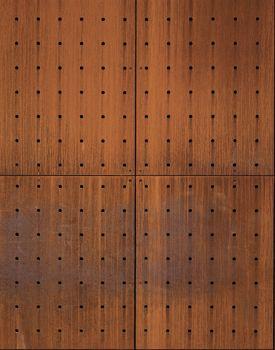 Acier corten perfore t x u r pinterest textura for Acero corten perforado oxidado