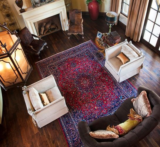Inspiration 13 Ways To Decorate With Area Rugs Quality Living Room Furniture Rugs In Living Room Persian Rug Living Room