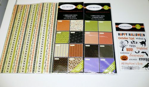 Halloween Scrapbooking Paper 3 Packs New | eBay #halloween #scrapbook  $3.50 Starting Bid