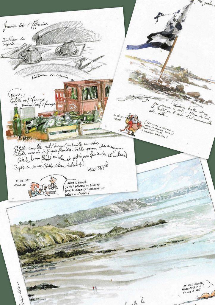 Marchés de Noel / Deuxième service | Sketchers, Sketchbooks and Sketches