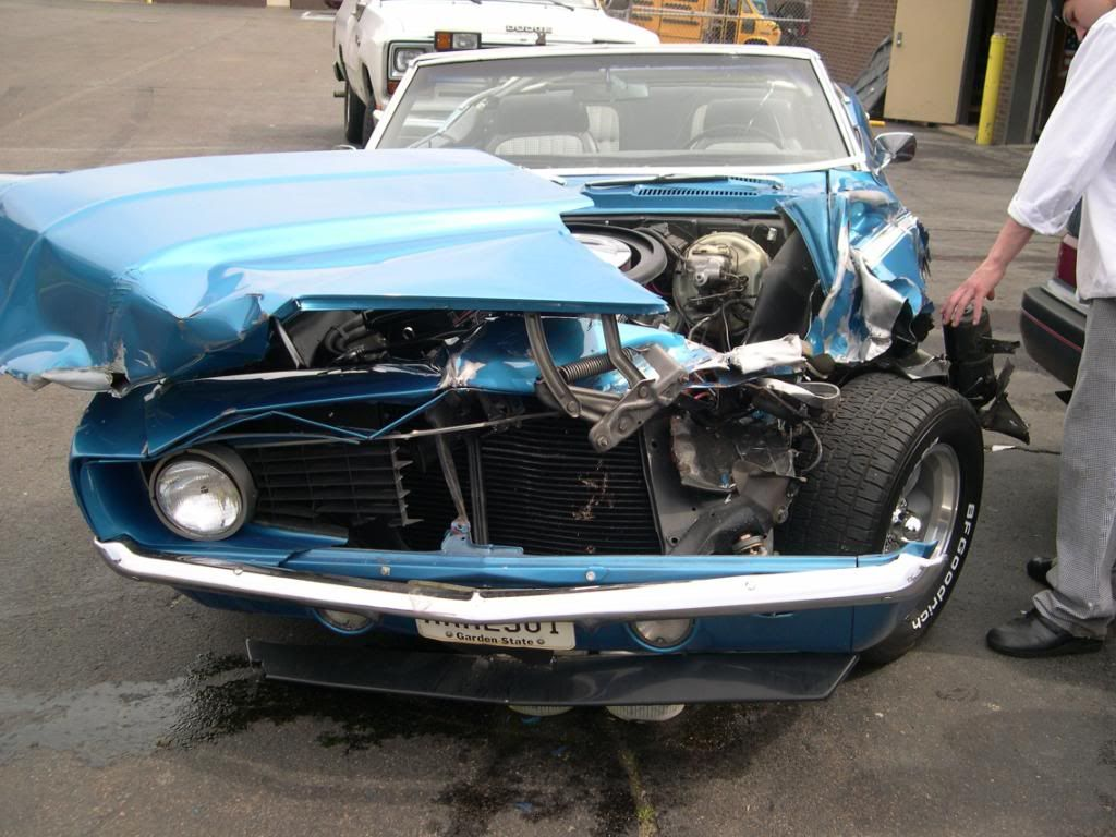 Wrecked Muscle cars - Page 9 - Yellow Bullet Forums | Crash & Burn ...