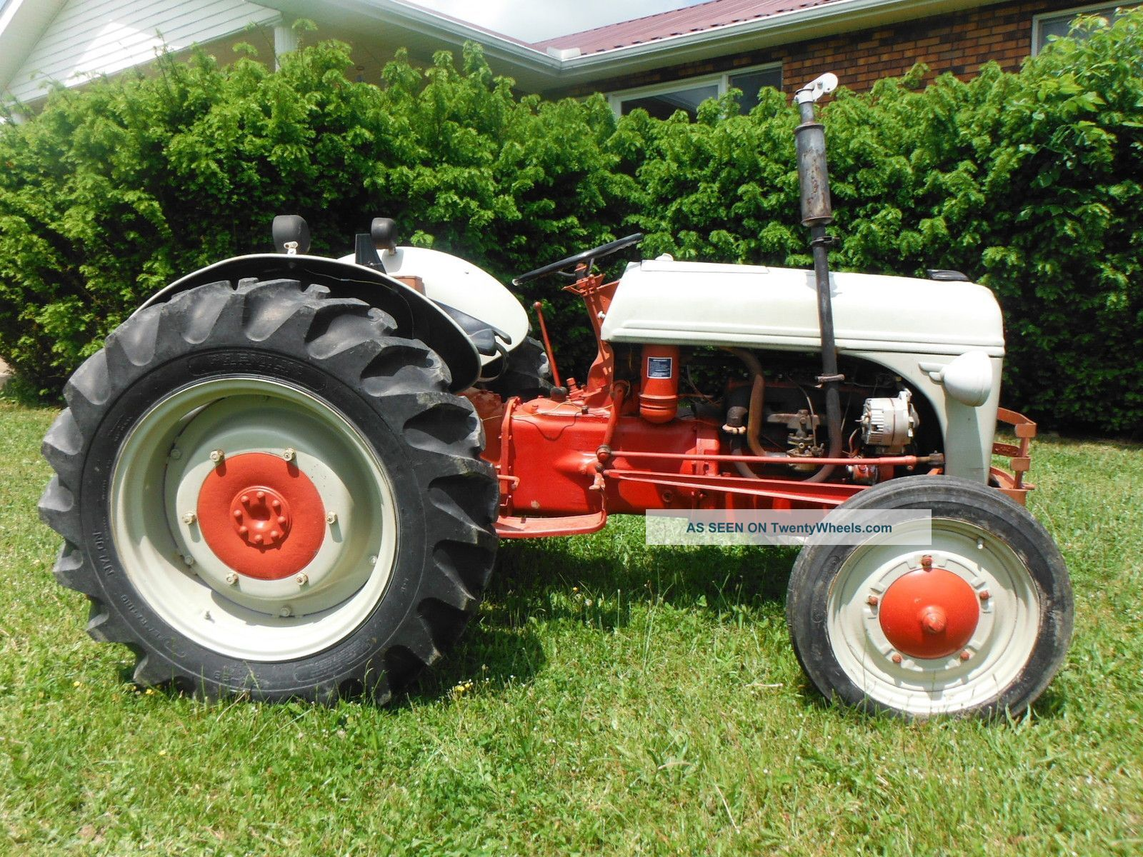 Vintage ford 9n farm tractor