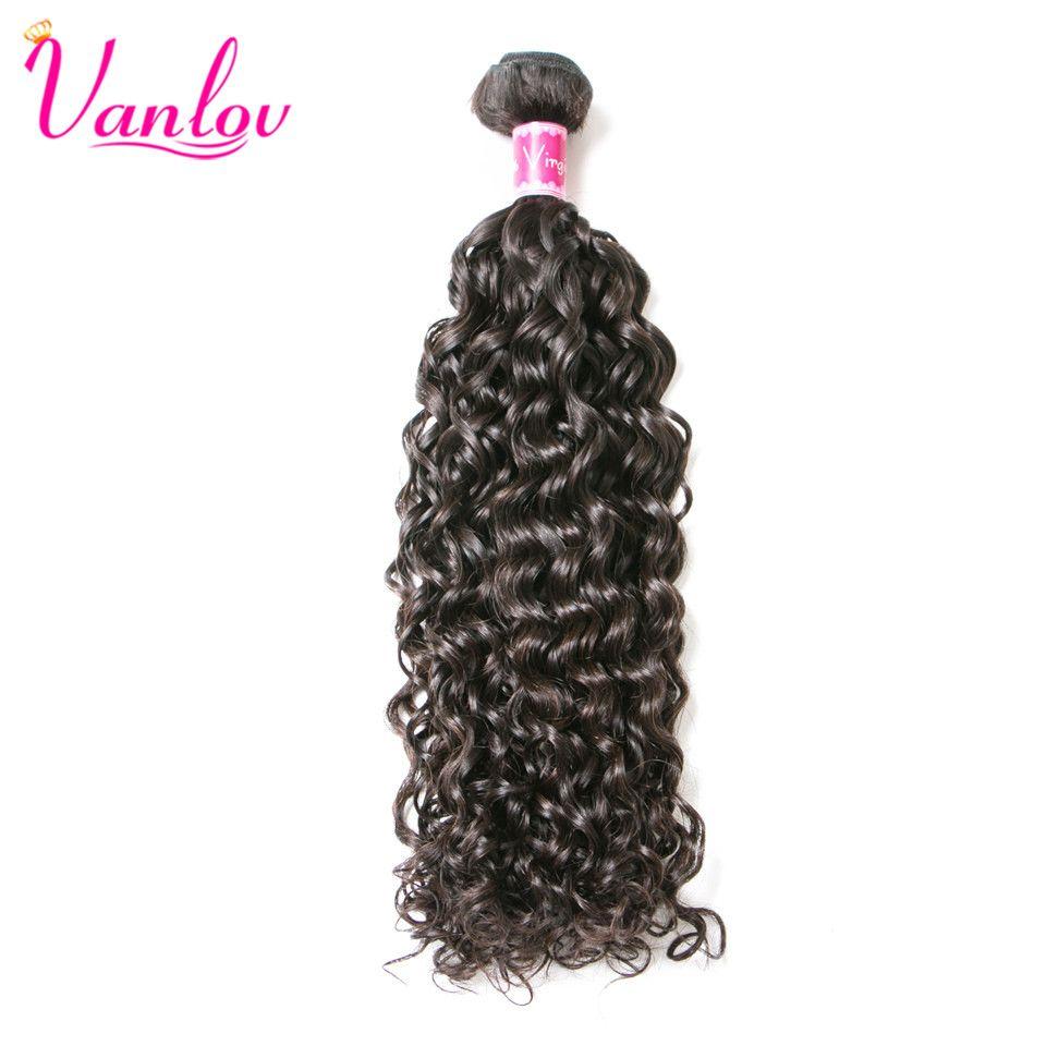 Vanlov Malaysian Water Wave Bundles Human Hair Extension Natural