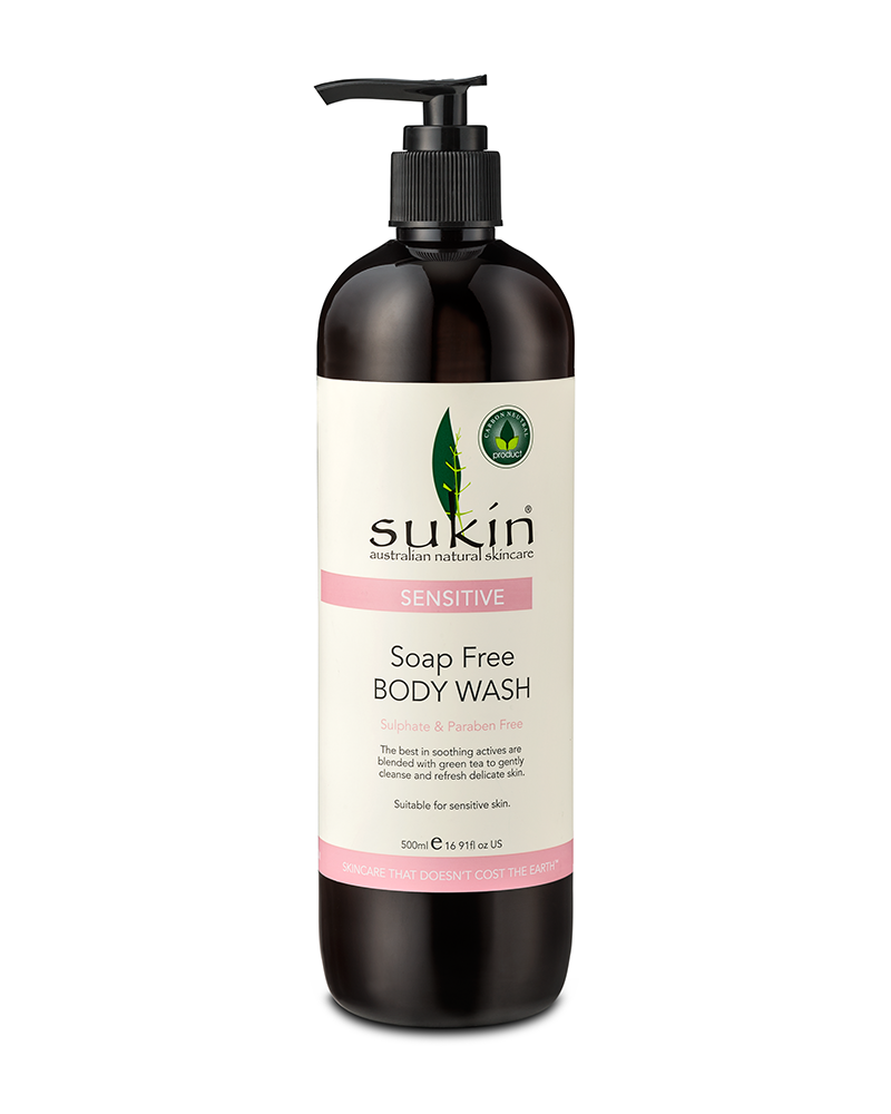 Sukin Sensitive Soap Free Body Wash Sensitive Skin