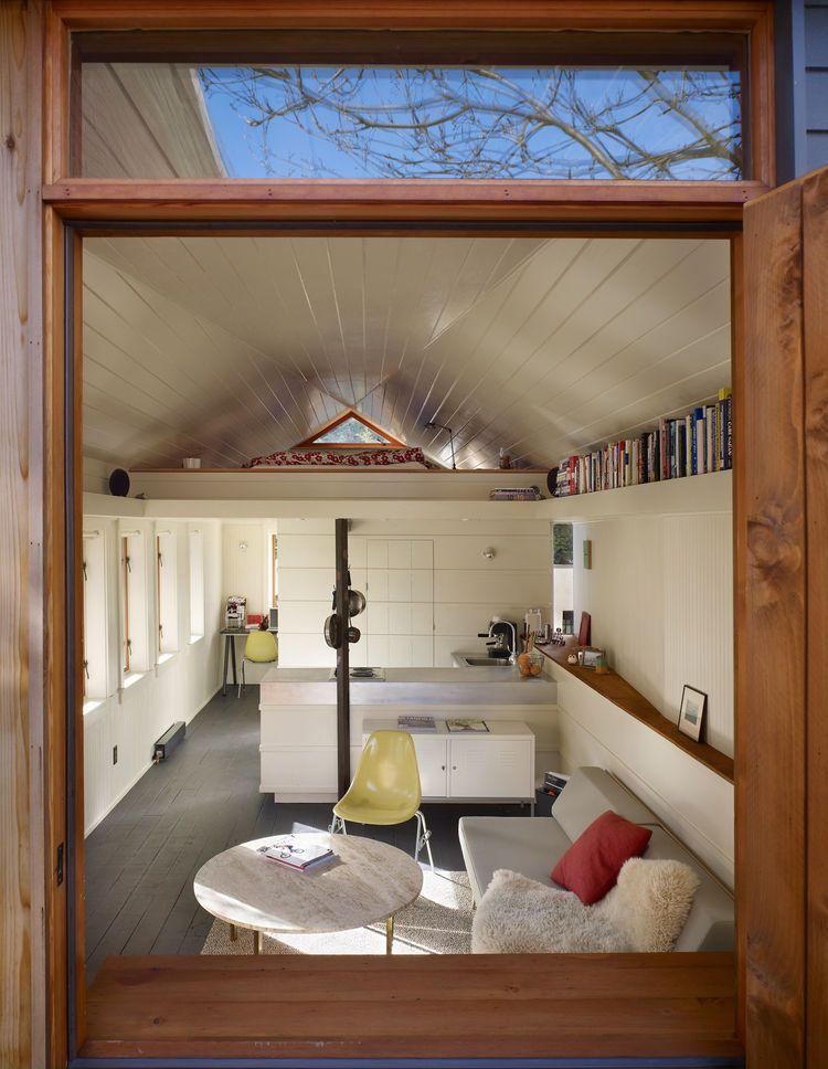 Tiny 1920s Garage Transformed Into A Charming Studio Dwell Conversions Bat Conversion