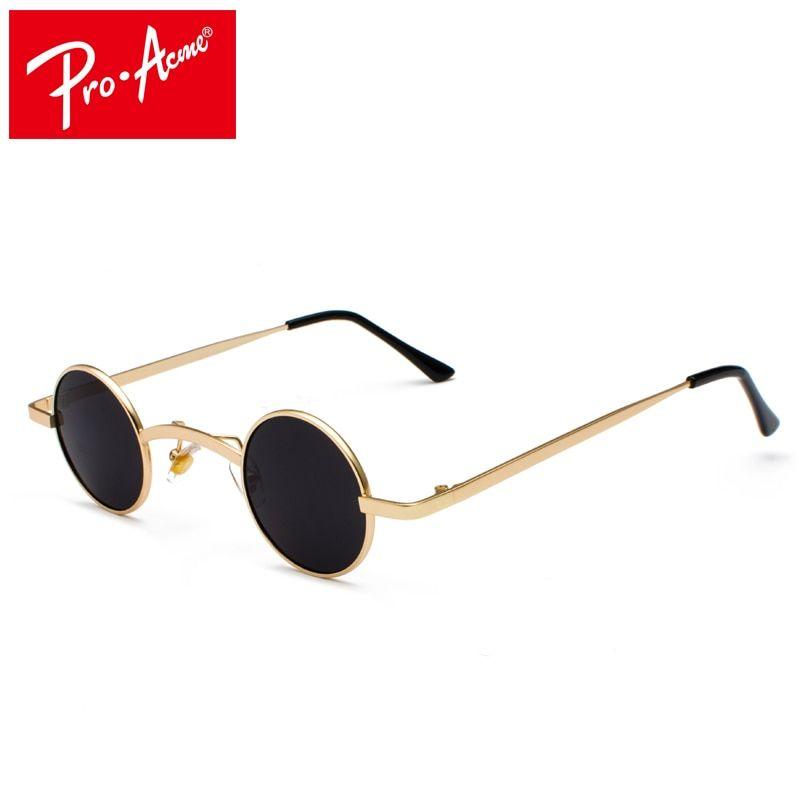 Vintage Steampunk Sunglasses Fashion Round Plastic Frame Goggles UV 400 Sun Pro